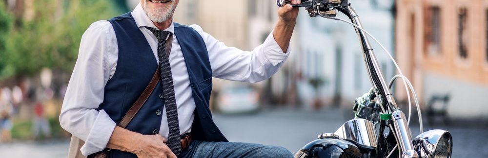 moto choisir à la retraite