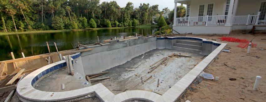 construire une piscine